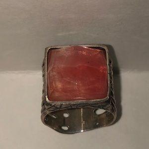 Silpada Cherry Quartz Ring
